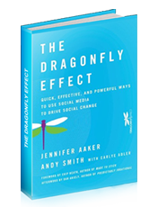 &quot;The Dragonfly Effect&quot; Book Cover