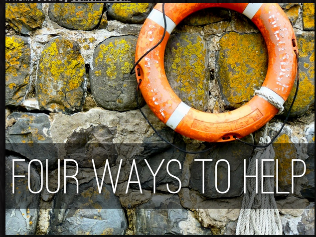Four Ways to Help